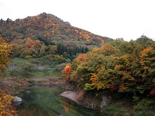錦秋湖の紅葉 2012/10/28
